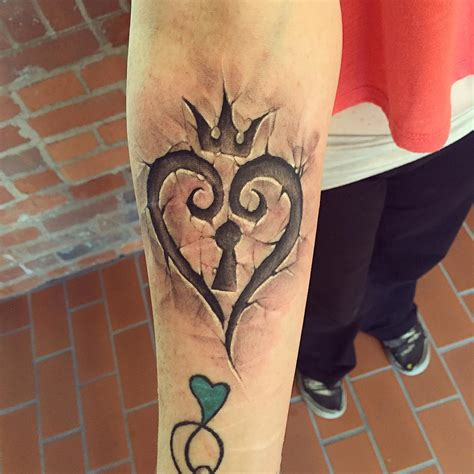 kingdom hearts tattoos killer kingdom hearts tattoos artist magazine