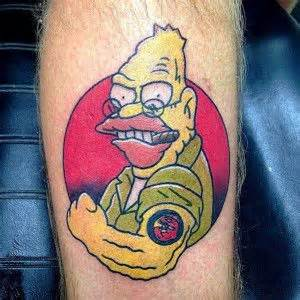 the crypt tattoo company 8 best tattoos images on homer