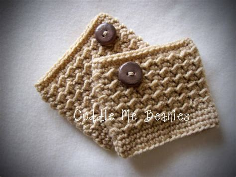 gabby boot cuff by cuddlemebeanies crocheting pattern