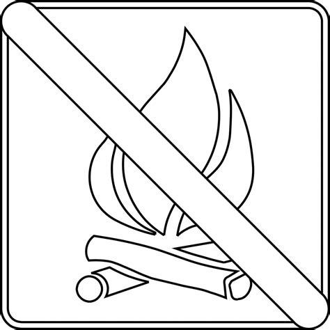No Outline by No Cfires Outline Clipart Etc