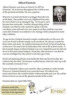 albert einstein biography for middle schoolers what did albert einstein invent albert einstein