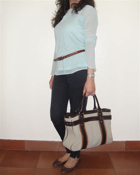 Mint Grey Jegging chocolate and honey octobre 2012
