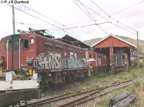 electric locomotive shed