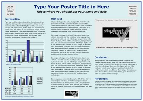 a0 powerpoint poster template powerpoint poster template a0 professional templates for you
