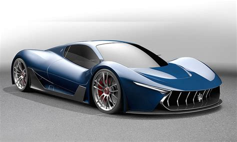 The Car Maserati Maserati Mc 63 Concept Based On Laferrari Gtspirit