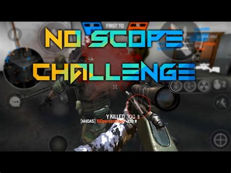 bullet force: no scope challenge (cut commentary) youtube