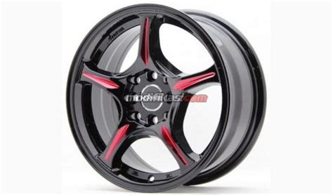 Velk Racing Ring 15 Inc Lebar 6 5 Rata velg hsr wheel ring 15 sa50m lebar 6 5 4 pelek palang 5