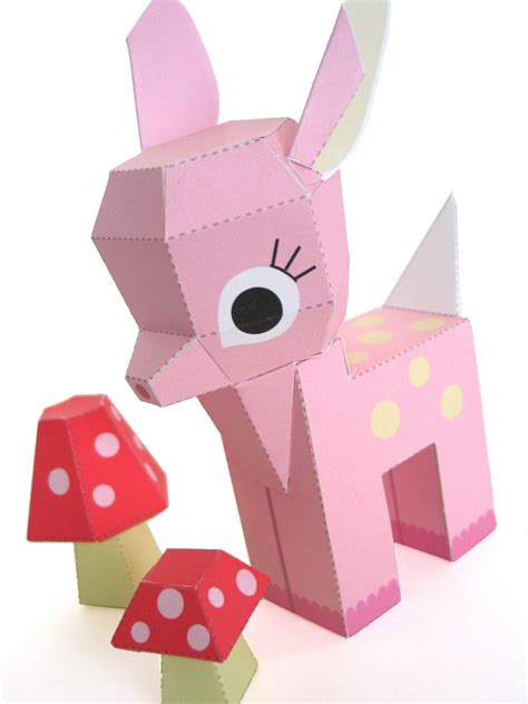 Free Printable Paper Crafts - 6 best images of free printable paper toys