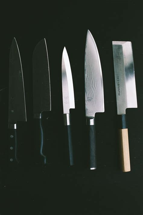 most important kitchen knives 25 best ideas about chef knives on chefs