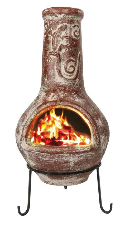 chiminea clay discount chiminea best home design 2018