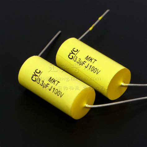 mkt capacitor treble companion cyc mkt crossover fever series axial leaded capacitors 3 3uf 100v