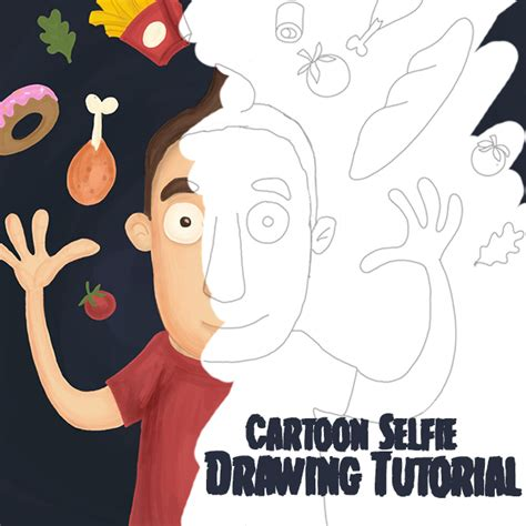 tutorial make cartoon with picsart how to draw a cartoon selfie with picsart