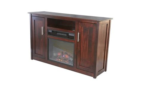 camden 57 quot electric fireplace tv stand from dutchcrafters