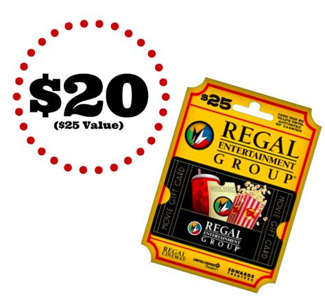 Regal Cinemas Gift Card Online - newegg 20 for 25 regal cinemas gift card