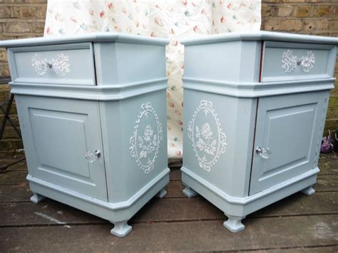 Bedside Table Ls Duck Egg Blue by Bedside Cabinets Www Nbpjobs Org