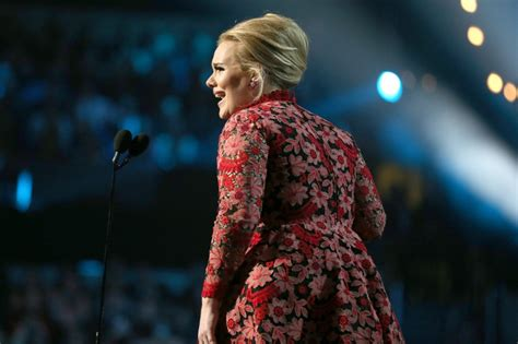 adele at the 2013 grammys the hollywood gossip adele wears valentino dress at grammy awards 2013 lainey