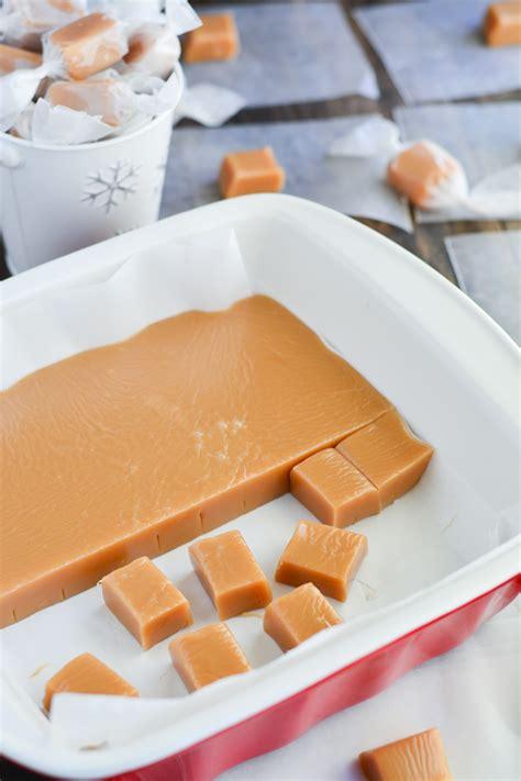 Handmade Caramels - caramels