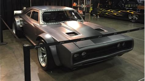 fast and furious 8 dodge charger vin diesel s fast 8 charger has fake jet power sounds