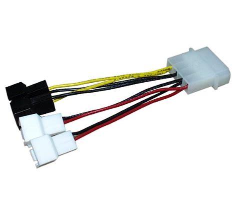 3 pin molex connector fan zalman zm mc1 4 pin molex to 3 pin 5v 12v fan power