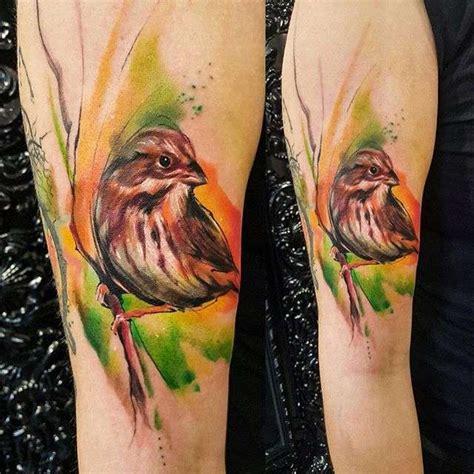 watercolor tattoo eugene watercolor fantasies from adam kremer inkppl magazine