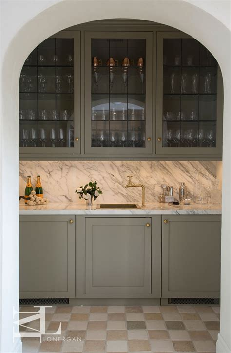 gray home bar cabinets  dark nickel harwdare
