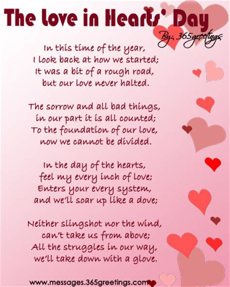 Valentine Poems Valentine Messages   Quote