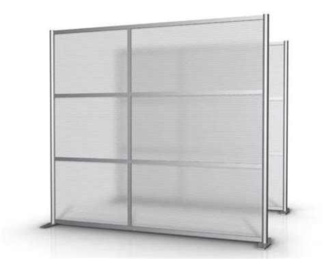 "84"" wide modern room partition, office walls, cubicles"
