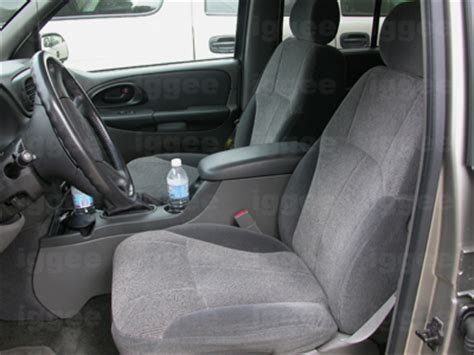 chevy trailblazer seat covers chevy trailblazer 2002 2005 leather like seat cover ebay
