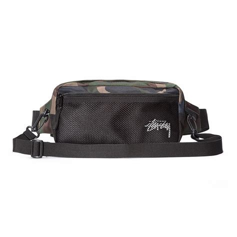 Tas Stussy Stock Side Bag stussy stock side bag woodland camo hlstore