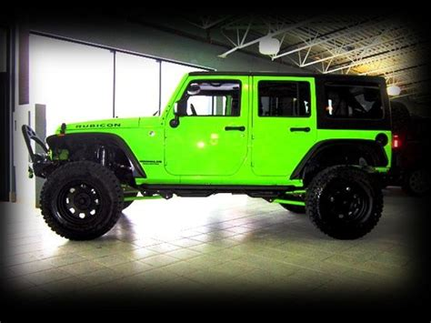 Lime Green Lifted Jeep Best 25 Green Jeep Ideas On Green Jeep