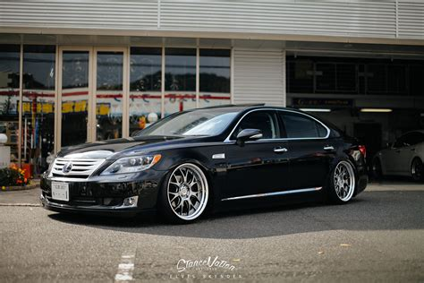 lexus ls stance a closer look at aimgain japan the ls460l