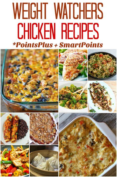 weight watchers recipes for chicken weight watchers chicken recipes with pointsplus and