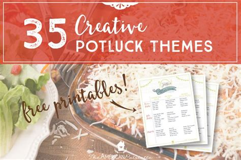 party potluck themes 25 best ideas about potluck themes on pinterest