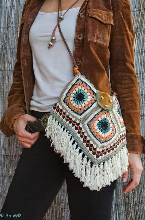 crochet pattern for boho bag fabulous boho crochet purse for girls trendyoutlook com