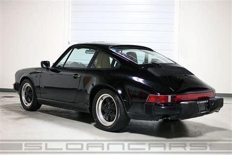 porsche black 911 1987 porsche 911 black 68 288 sloan cars