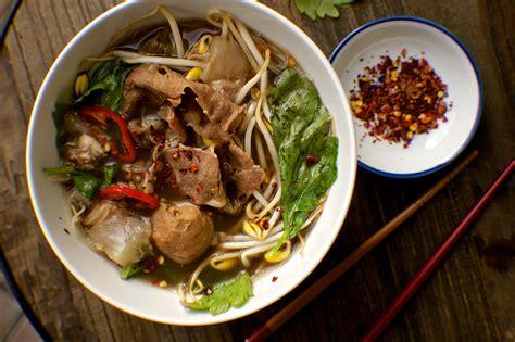 noodle boat thai restaurant thai boat noodle soup recipe thinkeatdrink