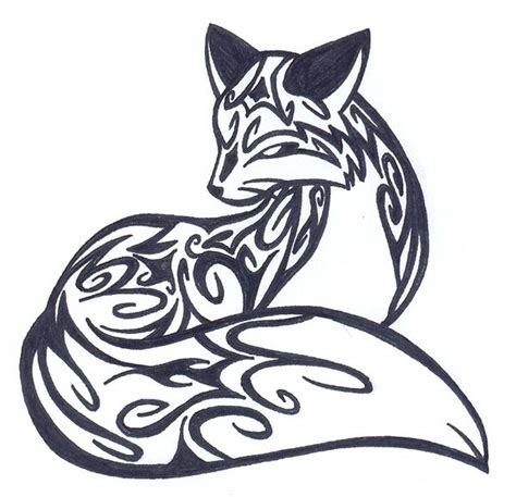 tribal fox tattoo 25 best ideas about tribal animal tattoos on