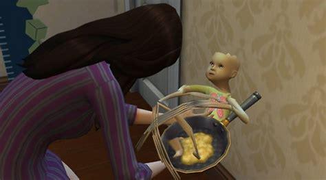the sims 3 creepy baby really scary glitch youtube oh good the sims 4 has demon babies kotaku australia