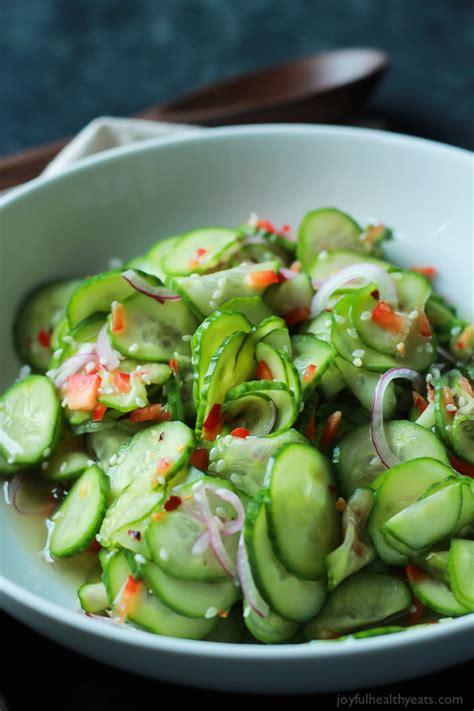 cucumber recipe simple cucumber salad with vinegar