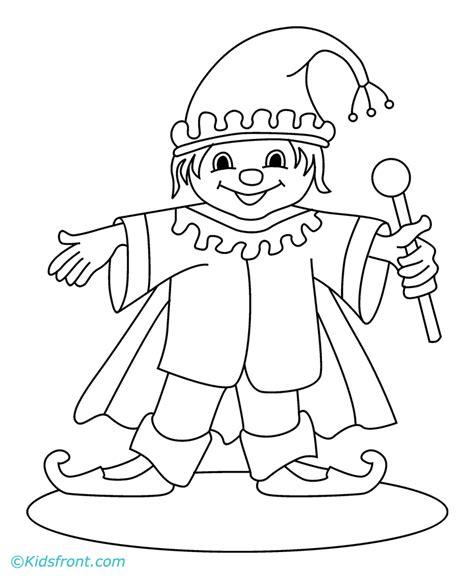 joker coloring pages easy kid joker drawing