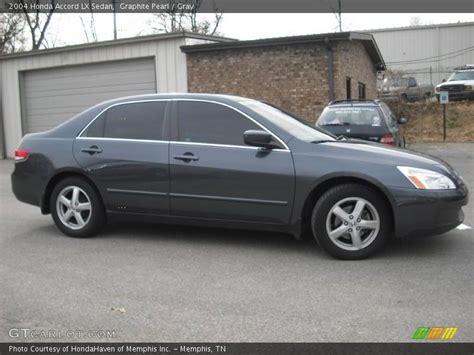2004 honda accord gray 2004 honda accord lx sedan in graphite pearl photo no