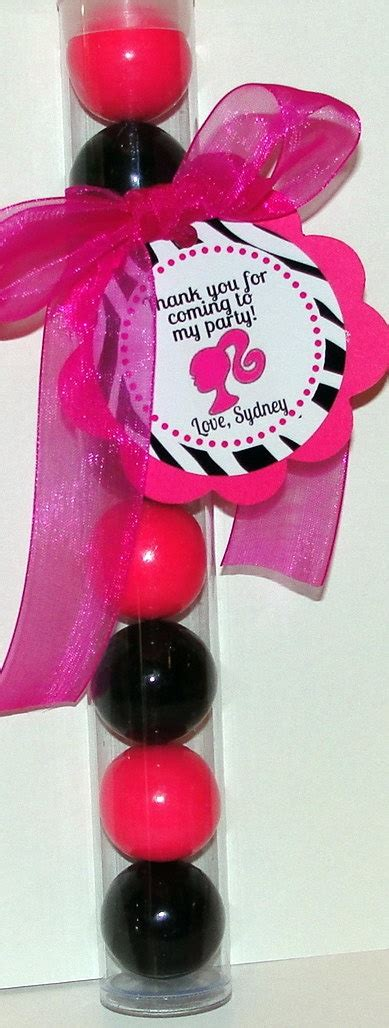 Barbie Giveaways For Birthday - barbie birthday party favor barbie party pinterest