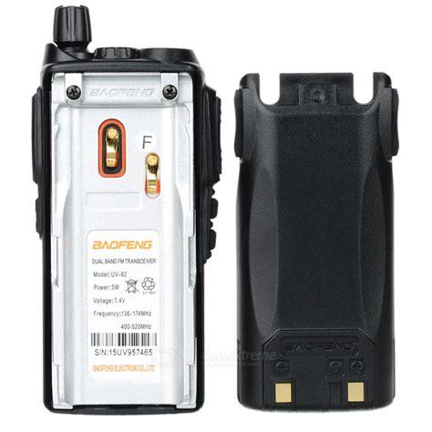 Baofeng Box Original For Bf Uv82 baofeng bf uv82 5w 1 5 quot 128 ch talkie walkie ensemble avec cryptage de la voix envoie gratuit