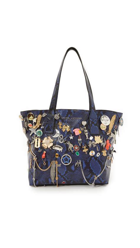 Marc By Marc Softly Mighty Weekender by Lyst Marc Medium Wingman Embellished Shopping Bag