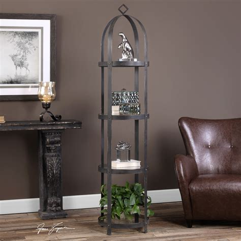 etagere uttermost uttermost accent furniture 24675 welch etagere dunk
