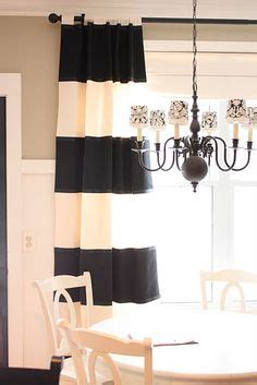 black cream striped curtains black cream bedroom on pinterest henry kissinger