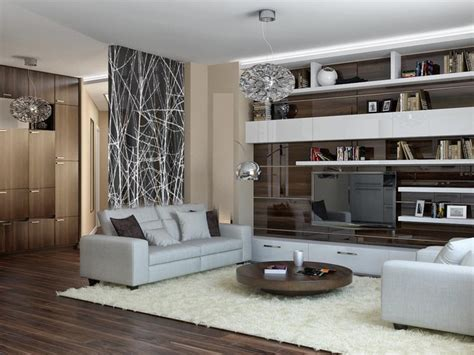 glass wall design for living room interior photographic glass walls