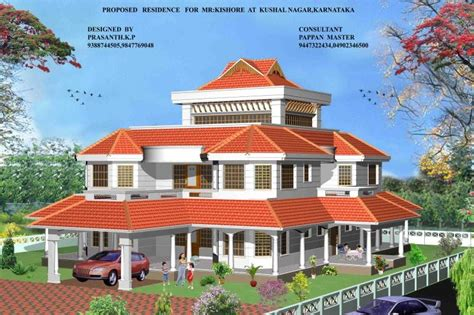 kerala home design 2009 kerala style homes by architect praveen m kerala home design and floor plans