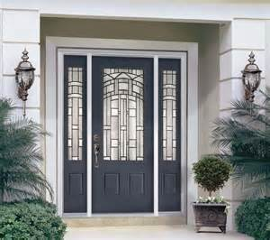 Steel Front Doors Fiberglass Steel Doors Traditional Exterior Ta By Us Door More Inc