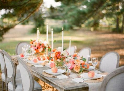 Hochzeitsdeko Kerzen by Meine Hochzeitsdeko In Cremig Und Pfirsichfarben